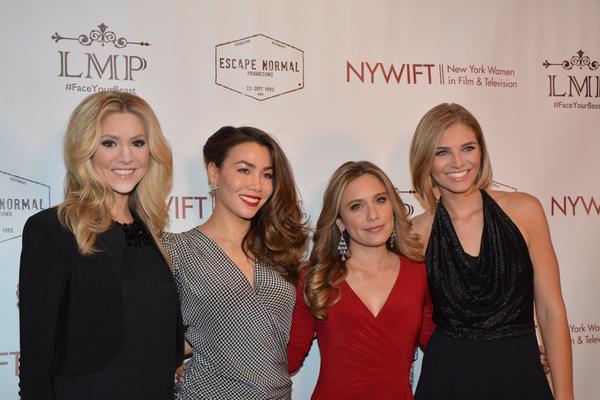 Kirsten Haglund, Sharleen Joynt, Marlee Roberts and Olivia Caridi Photo