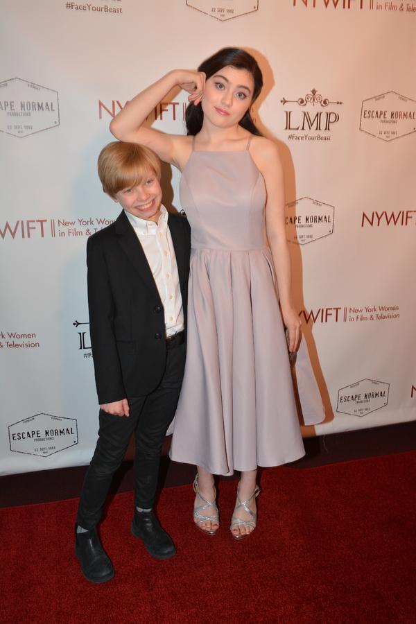 Graham Montgomery and Lilla Crawford