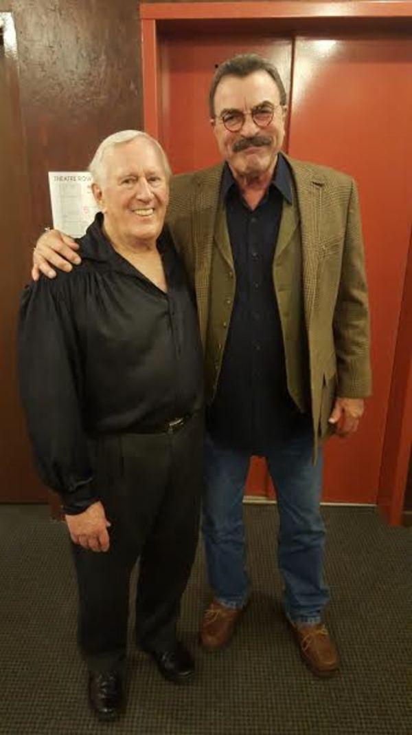 Len Cariou and Tom Selleck