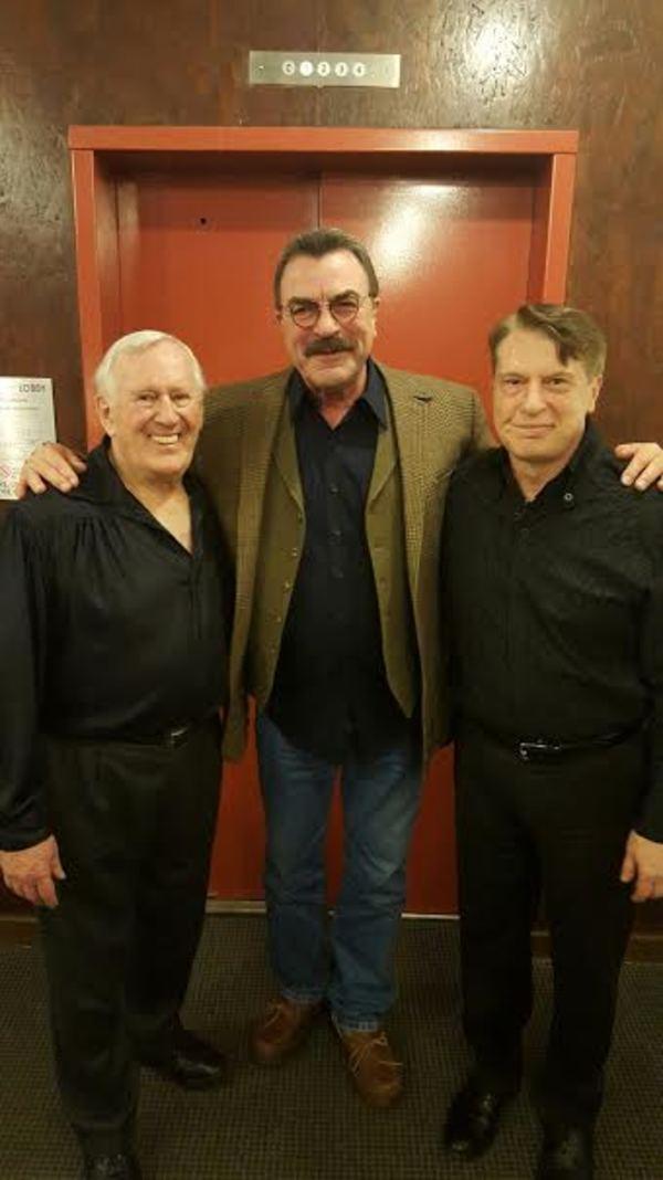 Len Cariou, Tom Selleck, and Mark Janas
