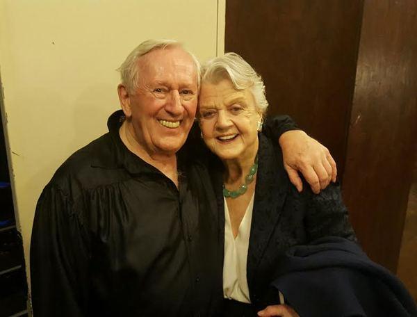 Len Cariou and Angela Lansbury