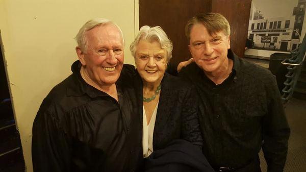 Len Cariou, Angela Lansbury, and Mark Janas