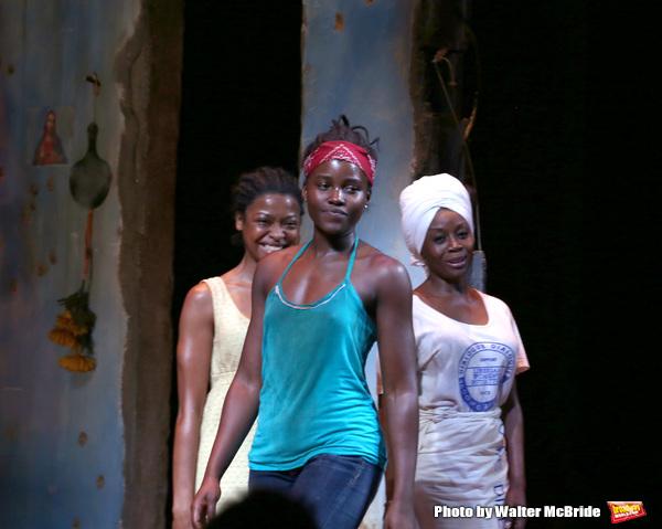 Lupita Nyong'o, Pascale Armand, and Akosua Busia