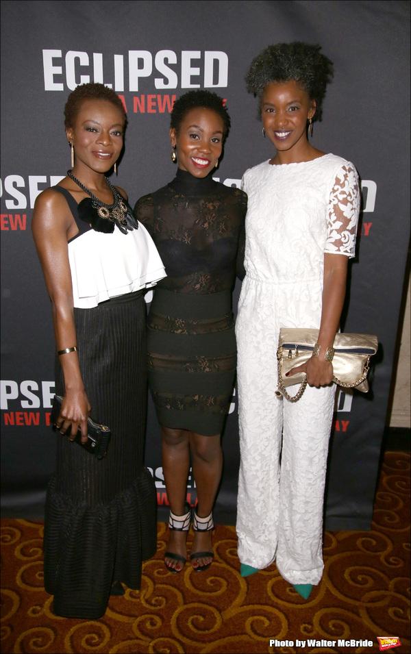 Joniece Abbott-Pratt, Ayesha Jordan and Adeola Role