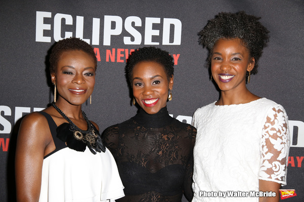 Joniece Abbott-Pratt, Ayesha Jordan and Adeola Role  Photo