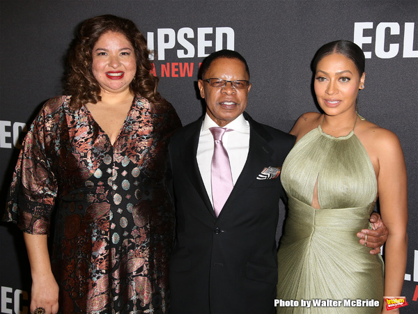 Liesl Tommy, producer Stephen Byrd, television personality La La Anthony