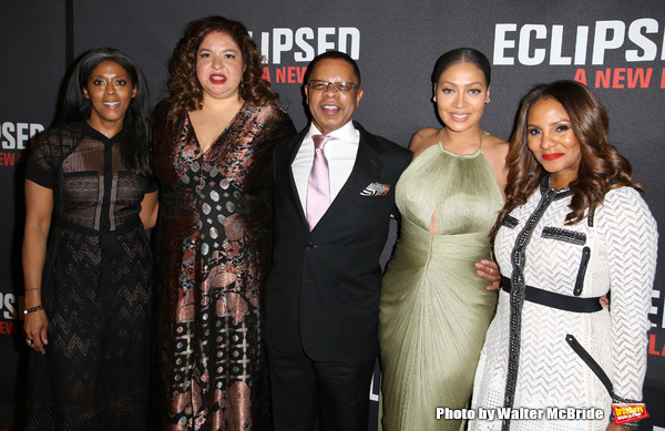 Alia Jones-Harvey, Liesl Tommy, Stephen Byrd, La La Anthony and Marvet Britto  Photo