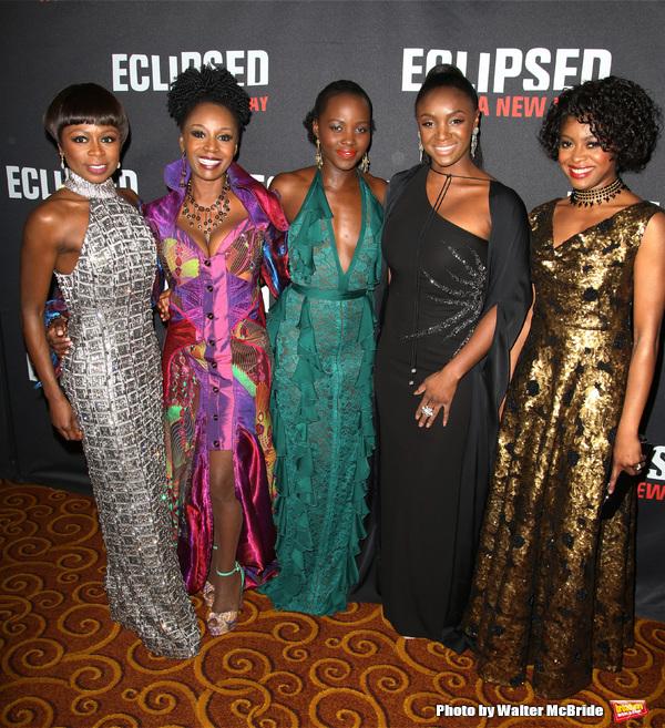 Zainab Jah, Akosua Busia, Lupita Nyong'o, Saycon Sengbloh and Pascale Armand