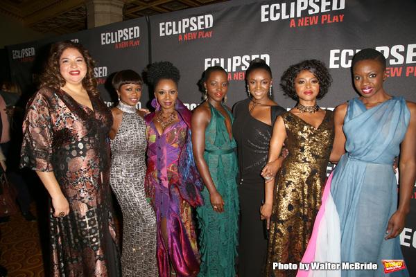 Liesl Tommy, Zainab Jah, Akosua Busia, Lupita Nyong'o, Saycon Sengbloh, Pascale Armand and Danai Gurira