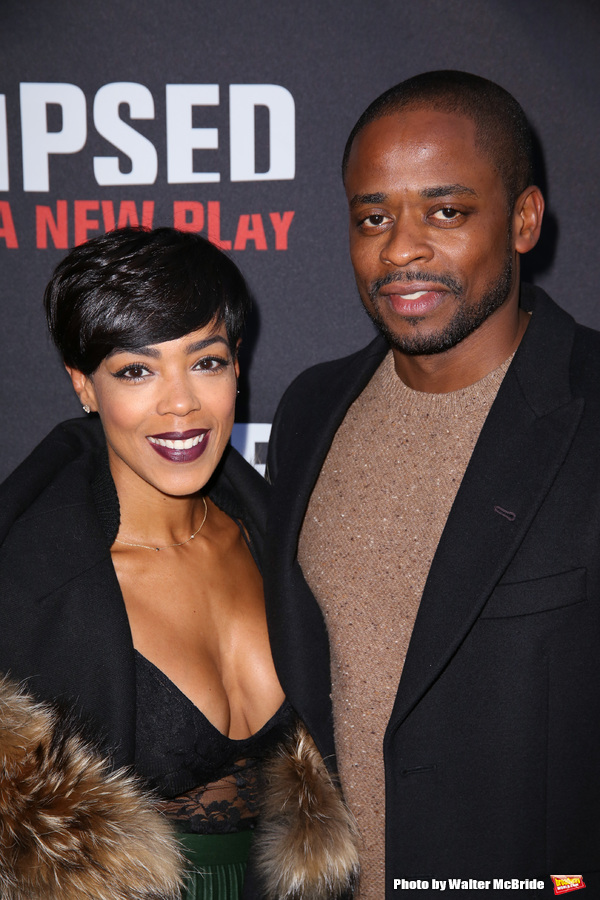 Jazmyn Simon and Dule Hill