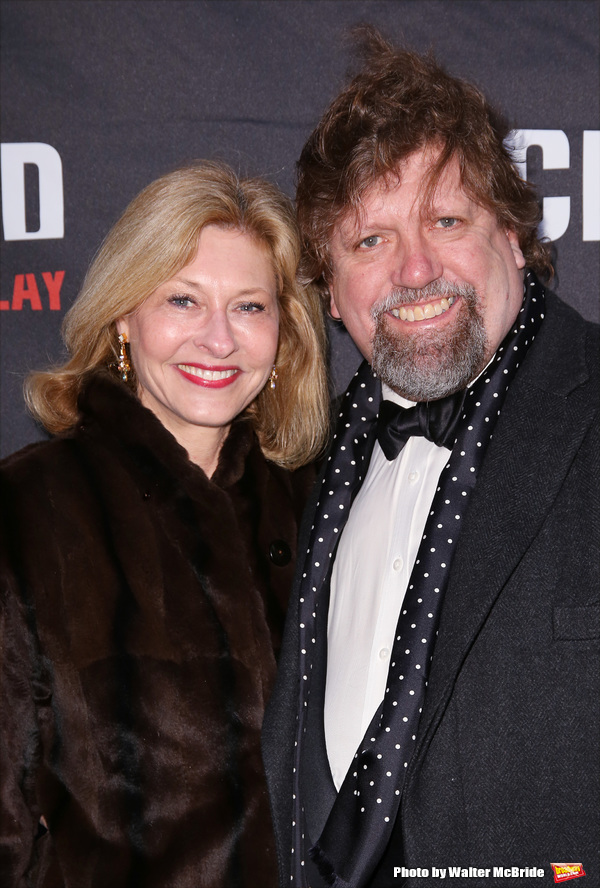 Oskar Eustis and Laurie Eustis