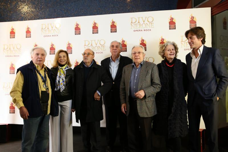 Debutto mondiale di il divo nerone opera rock una colossale opera musicale made in italy - Il divo gruppo ...