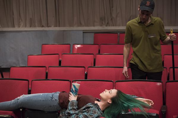 Laura C. Harris (Rose) and Evan Casey (Sam)