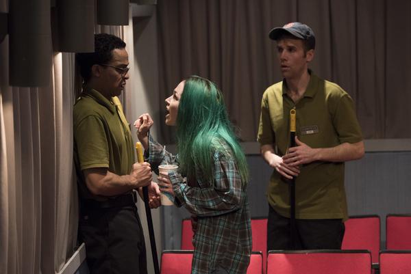 Thaddeus McCants (Avery), Laura C. Harris (Rose) and Evan Casey (Sam)