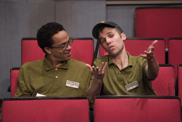 Thaddeus McCants (Avery) and Evan Casey (Sam)