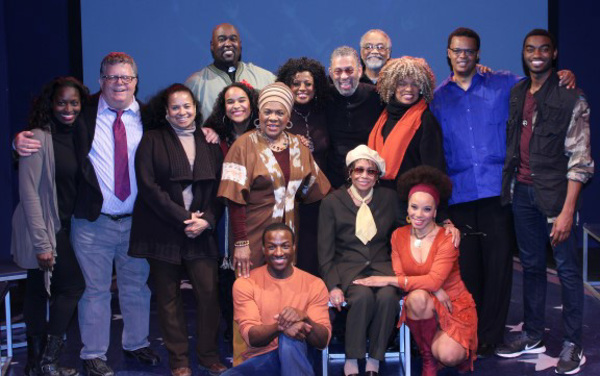 The cast of DON'T BOTHER ME, I CAN'T COPE with Maurice Hines
