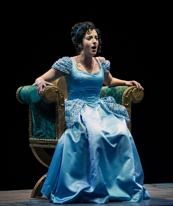 Dara Cameron stars as ''Cinderella''
