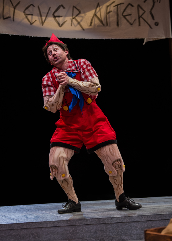 Justin Brill stars as ''Pinocchio''