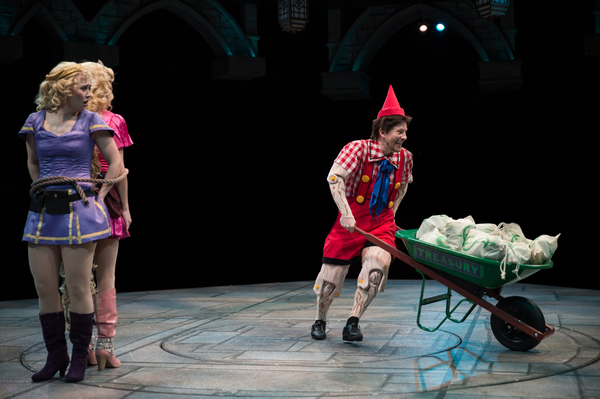 Laura Savage as ''Rapunzel'' and Justin Brill as ''Pinocchio''