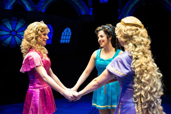 Samantha Pauly as ''Sleeping Beauty'' and Dara Cameron as ''Cinderella'' Photo