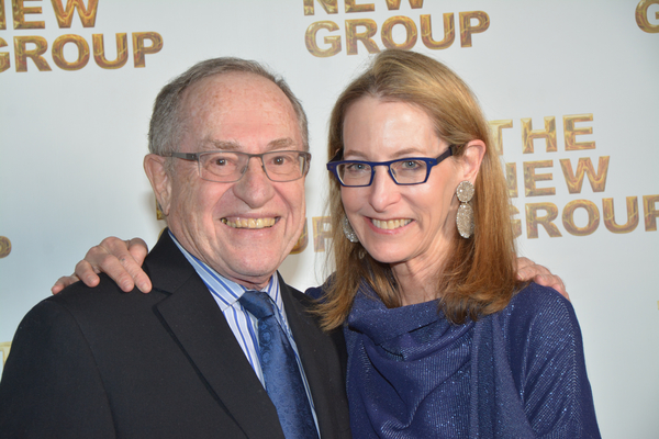 Alan Dershowitz and Carolyn Cohen