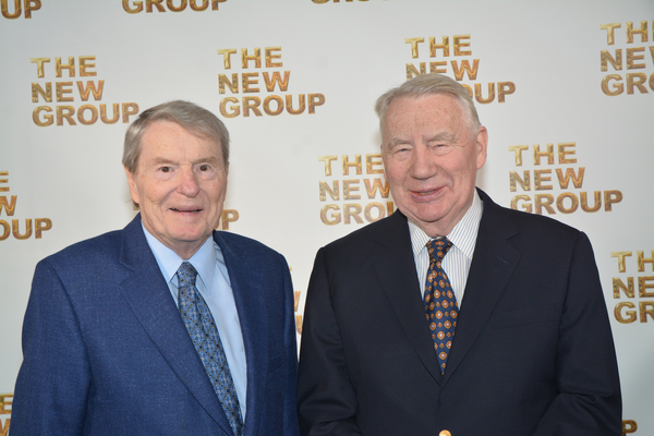 Jim Lehrer and Robert MacNeil