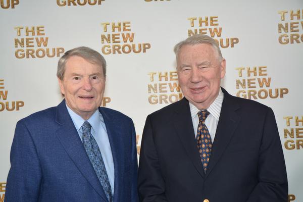 Jim Lehrer and Robert MacNeil