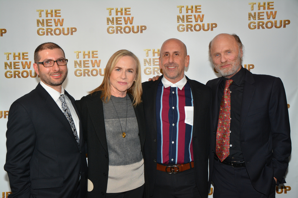 Adam Bernstein, Amy Madigan, Scott Elliott and Ed Harris