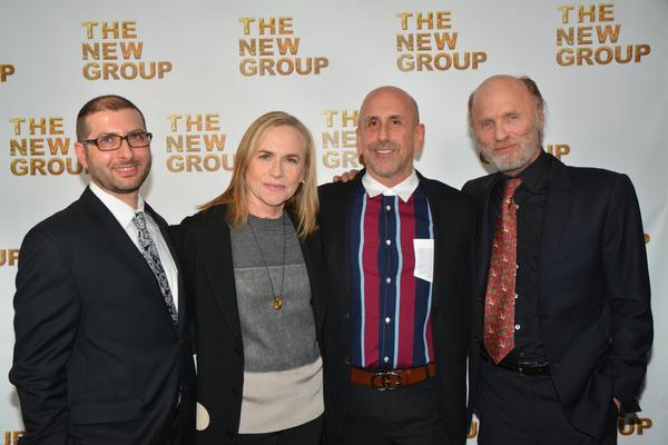 Adam Bernstein, Amy Madigan, Scott Elliott and Ed Harris