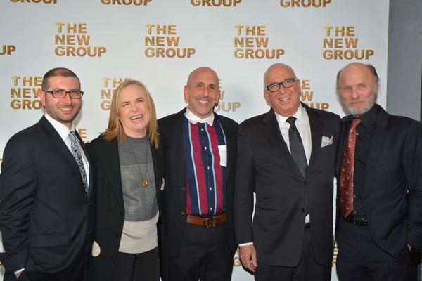 Adam Bernstein, Amy Madigan, Scott Elliott, Serge Nivelle and Ed Harris