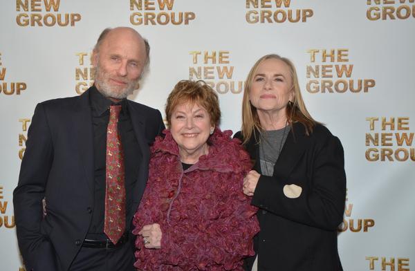 Ed Harris, Ellen Roth and Amy Madigan