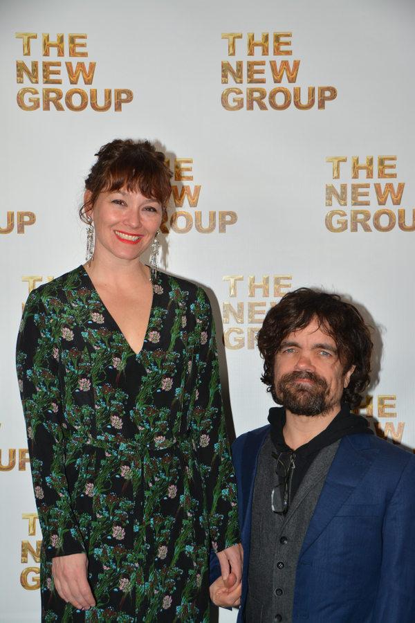 Erica Schmidt and Peter Dinklage