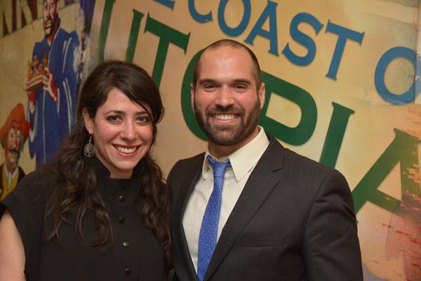 Rachel Chavkin and Marco Ramirez (Playwright) Photo