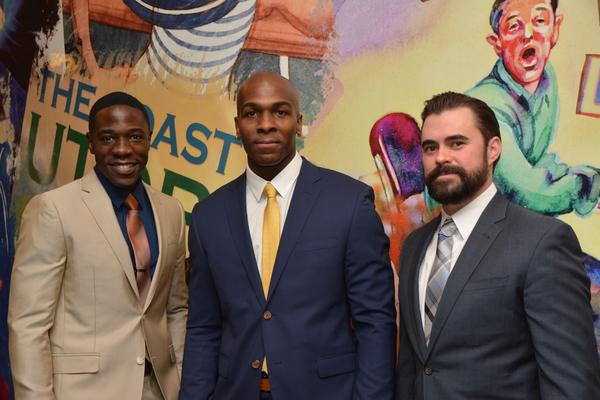 McKinley Belcher III, Khris Davis and John Lavelle Photo