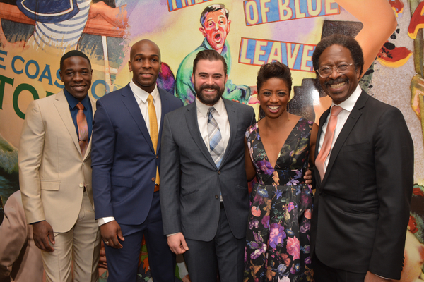 McKinley Belcher III, Khris Davis, John Lavelle, Montego Glover and Clarke Peters Photo