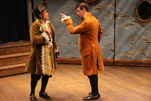 Photo Flash: First Look at Letter of Marque Theater Company's DOUBLE FALSEHOOD