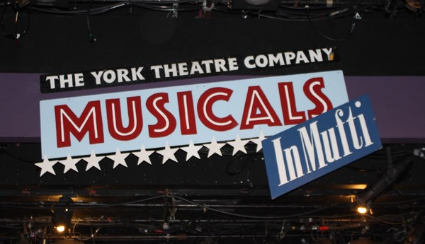Musicals in Mufti sign
