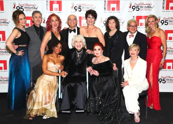 Star-studded salute in Palm Desert, Calif., celebrates Carol Channing''s 95th birthday.