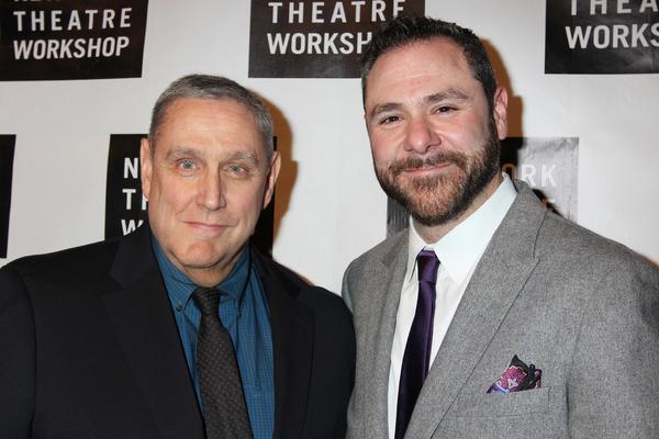 NYTW Artistic  James Nicola and Managing  Jeremy Blocker Photo