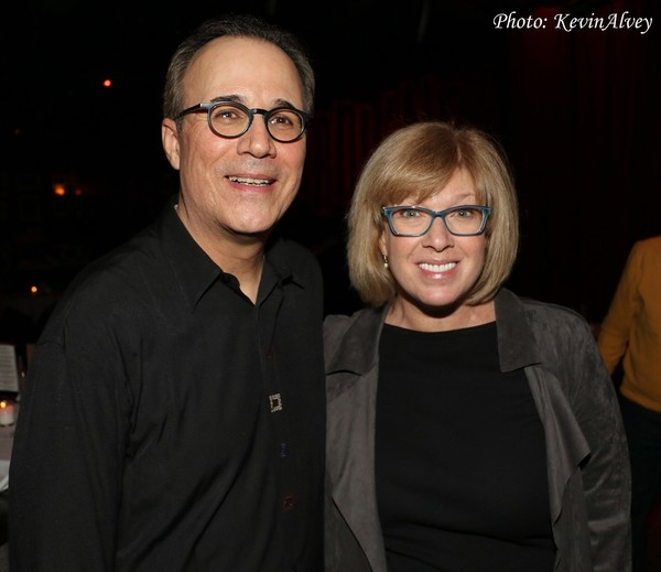 John Bucchino and Daisy Prince Photo