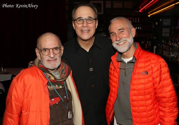 Larry Kramer, John Bucchino and David Webster