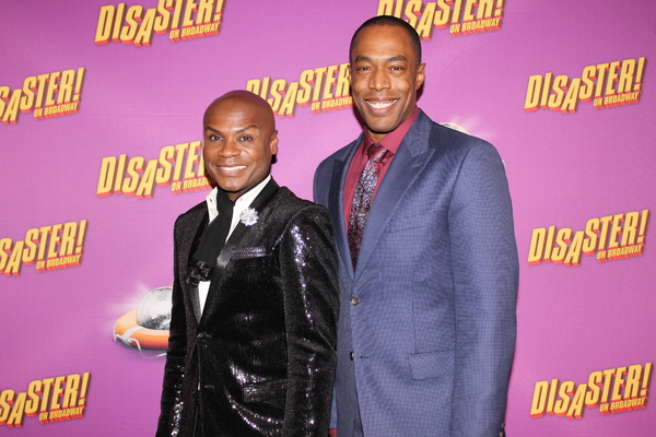 Nathan Lee Graham and Michael McElroy Photo