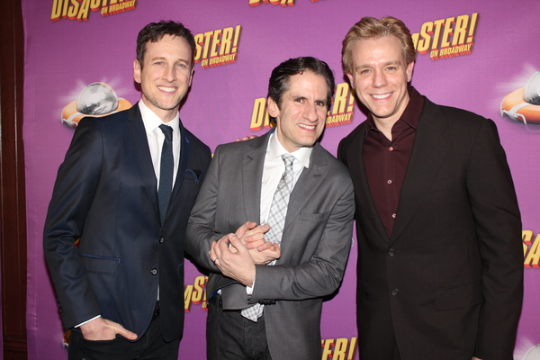 Jack Plotnick, Seth Rudetsky and Adam Pascal