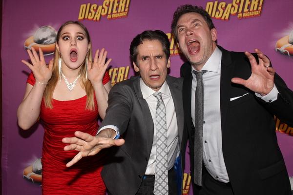 Juli Wesley, Seth Rudetsky and James Wesley