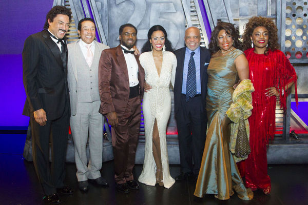 Charl Brown, Smokey Robinson, Cedric Neal, Lucy St. Louis, Berry Gordy, Cherelle WIlliams, Mary Wilson