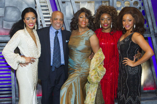 Lucy St. Louis, Berry Gordy, Mary Wilson, Cherelle Williams, Tayna Nicole Edwards