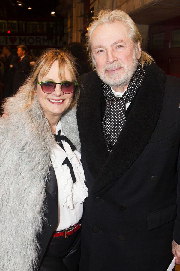 Twiggy & Leigh Lawson