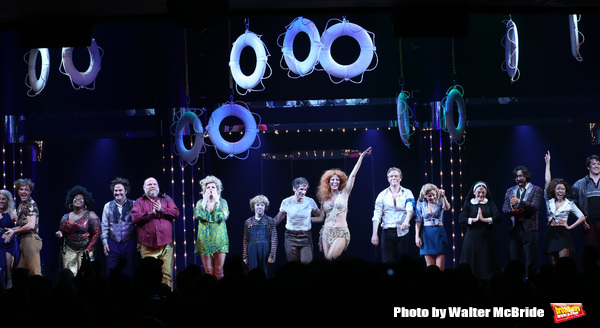 Photo Coverage: DISASTER! Discos to Broadway- Inside the Opening Night Curtain Call!