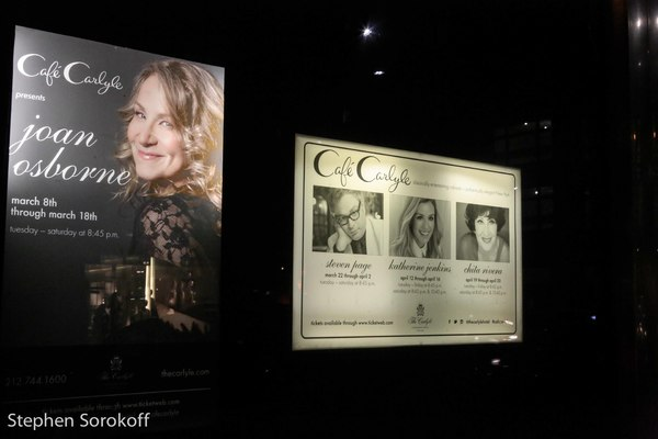 Photo Coverage: Joan Osborne Debuts at Cafe Carlyle with Songs Of Bob Dylan