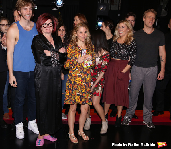 Travis Kent, Faith Prince, Kerry Butler, Maggie McDowell and Adam Pascal